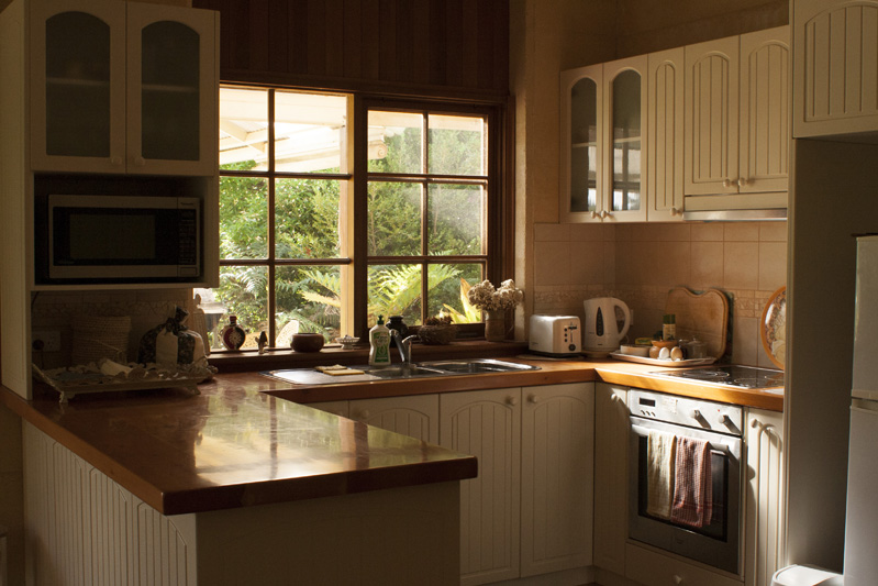 Cantebury Cottage kitchen morning